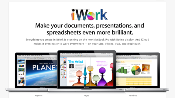 iWork, iPhoto and Safari Updated With New Mountain Lion-Powered Enhancements