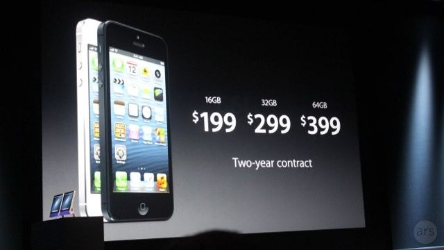 The iPhone 5 Will Cost 0 and Release on September 21st, Pre-Orders Start September 14th